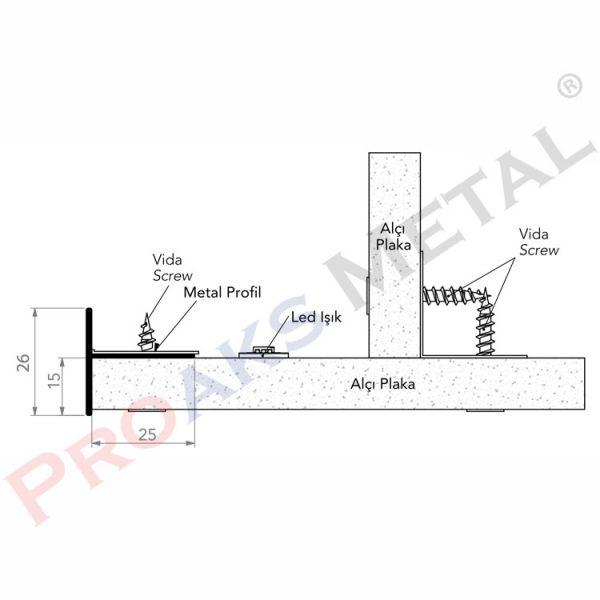 T Profile 10-13-15 mm